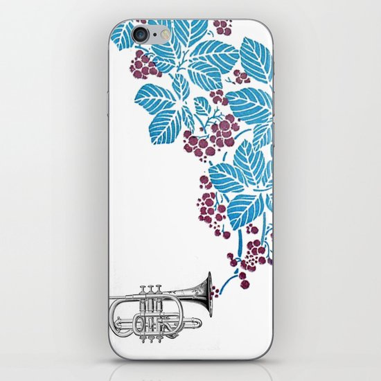 cornet. iPhone & iPod Skin