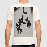 Blooming Silhouette Mens Fitted Tee Natural SMALL