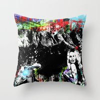 Fight Bitch Throw Pillow