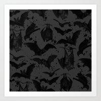 BATS III Art Print