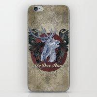 My Deer Friend / Version 2 iPhone & iPod Skin