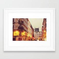 Paris Nº1 Framed Art Print