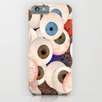 iPhone & iPod Case featuring YEUX by lucborell