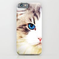iPhone & iPod Case featuring Eye of Cat - for iphone by Simone Morana Cyla