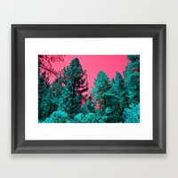The TREES Framed Art Print