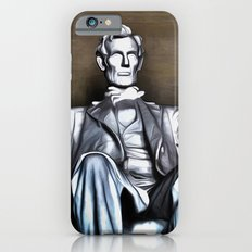 Lincoln Statue Painting Slim Case iPhone 6s
