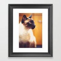 Wesley Framed Art Print
