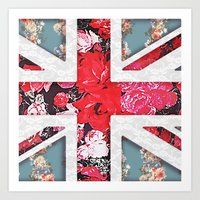 God Save The Queen | Ele… Art Print