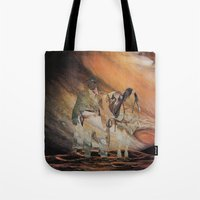 The Wild West Guide To The Galaxy Presents The Unknown Rider Jupiter Rising Tote Bag