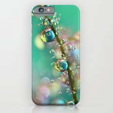 Smokey Rainbow Drops iPhone 6 Slim Case