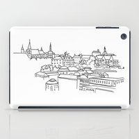 Vyšehrad - View from the castle iPad Case