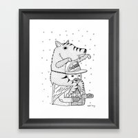 More On The Topic Of Win… Framed Art Print