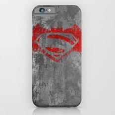 Bat Man V Superman BVS iPhone 6 Slim Case