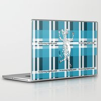 zebra Laptop & iPad Skins featuring Zebra  by mailboxdisco