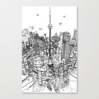 Toronto! (version #2) Canvas Print