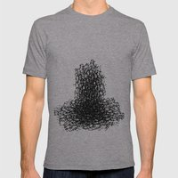 Amorphous 2 Mens Fitted Tee Athletic Grey SMALL