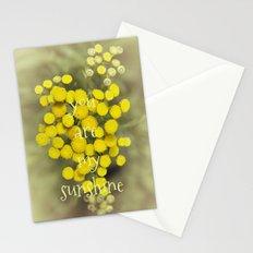 My sunshine Stationery Cards