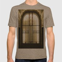 Candle Glass Mens Fitted Tee Tri-Coffee SMALL