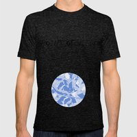 BlueMING Blue Mens Fitted Tee Tri-Black SMALL