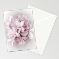 Plumeria love Stationery Cards