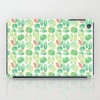 minimalist spring iPad Case