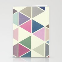T R I _ N G L S Stationery Cards