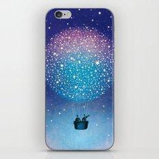 Stars Balloon iPhone & iPod Skin