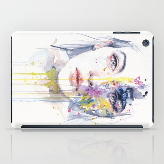 miss bow tie iPad Case