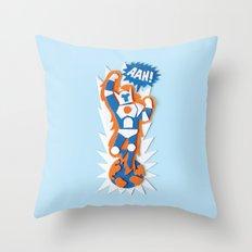 AAH! Throw Pillow