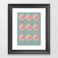 Flower Pad Framed Art Print