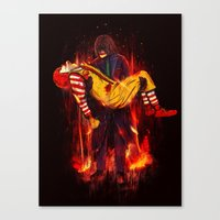 This Is Not A Joke! Canvas Print