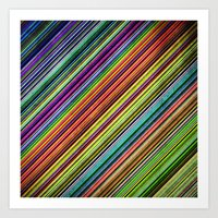 Stripes II Art Print