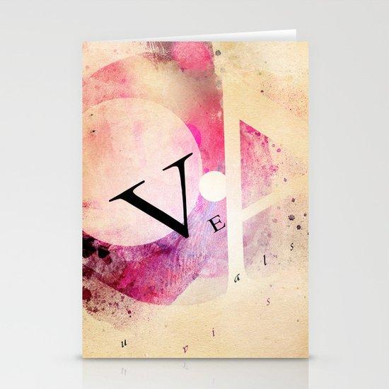 VEA 21 Stationery Card