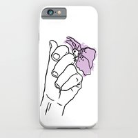 A Hand with a Butterfly iPhone 6 Slim Case