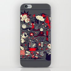 From The Womb To The Tomb iPhone & iPod Skin