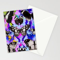 Tie Dye Butterflies Stationery Cards