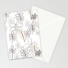 Spring leaves Stationery Cards