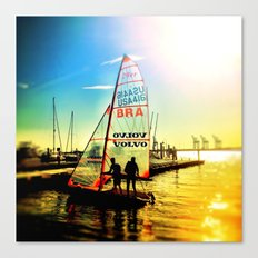 Evening Sail Canvas Print