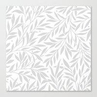 Leaf it be Canvas Print