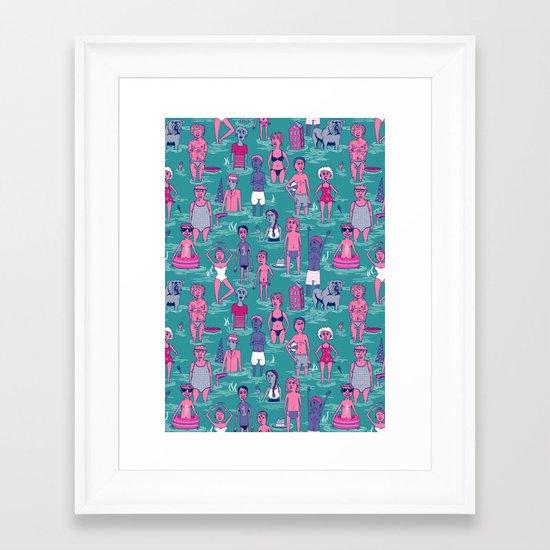 Seafarers Framed Art Print