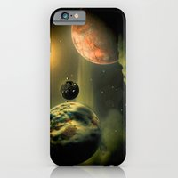 iPhone & iPod Case featuring Space One by Mr D's Abstract Adventures