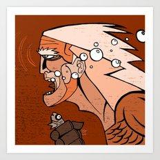 Aguaman Art Print