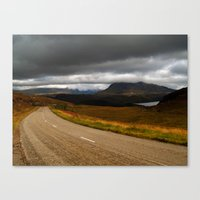 The Road To Poolewe Canvas Print