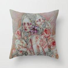 Lovely Skin Throw Pillow