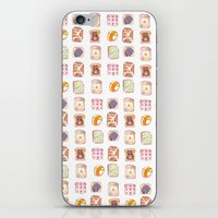 Toast Pattern iPhone & iPod Skin