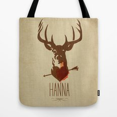 HANNA film tribute poster Tote Bag
