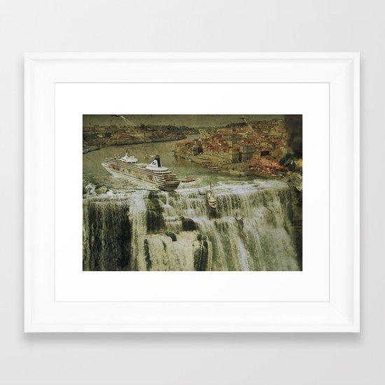 The Edge of the World Framed Art Print