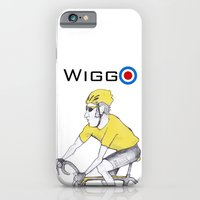 iPhone & iPod Case featuring Wiggo by kubaart