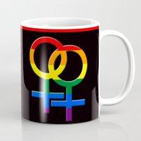LGBT Lesbian Mug