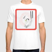 Ethernal Catharsis Mens Fitted Tee White SMALL